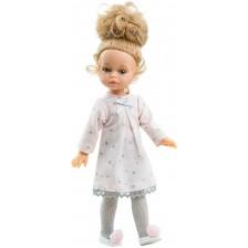 Кукла Paola Reina Mini Amigas - Марина, с рокля на звездички, 21 cm -1