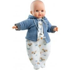 Кукла-бебе Paola Reina Manus - Алекс, с ританки на коали и синя жилетка, 36 cm -1
