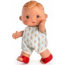 Кукла Asi - Дани с цветен гащеризон, 23 cm -1