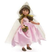 Кукла Asi - Силия, фея с розова рокля и златисто наметало, 30 cm -1
