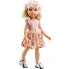 Кукла Paola Reina Amiga Funky - Клаудия, с рокля на пайети и лента, 32 cm -1