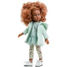 Кукла Paola Reina Amiga Funky - Нора, с рокля, горнище и дантелен клин, 32 cm -1
