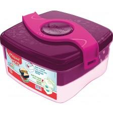 Кутия за храна Maped Origin - Розова, 1400 ml -1