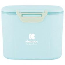 Кутия за сухо мляко Kikka Boо - Синя, с лъжичка, 160 g -1