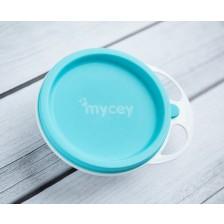 Купичка с капак Mycey  - Синя -1