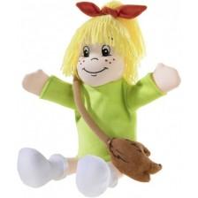Кукла за театър Heunec - Биби, с чантичка, 32 cm -1