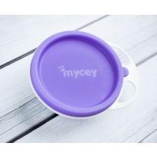 Купичка с капак Mycey  - Лилава -1