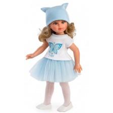 Кукла Asi - Сабрина с бяла тениска и синя пола, 40 cm -1