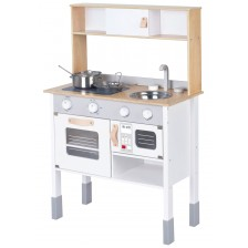 Детска дървена кухня Lelin - Малкият готвач -1