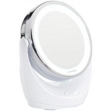 Козметично огледало с увеличение и осветление Lanaform -1