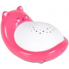 Лампа проектор Moni - Animal, розова -1