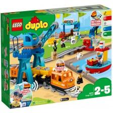 Конструктор Lego Duplo - Товарен влак (10875) -1