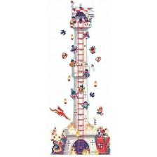 Djeco Стикер - Метър Knight'S Tower -1