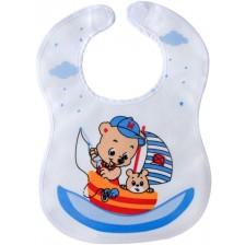 Лигавник с велкро закопчаване Sevi Baby - Моряк -1