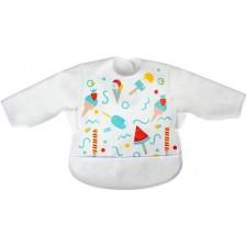 Лигавник пева с ръкави Sevi Baby - Сладолед -1