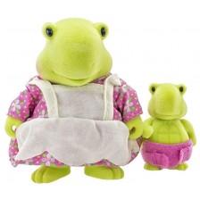 Комплект фигурки Battat Lil' Woodzeez - Костенурка майка и бебе -1