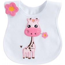 Лигавник със странично закопчаване Sevi Baby - Жираф -1