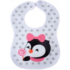 Лигавник с велкро закопчаване Sevi Baby - Пингвинчета -1