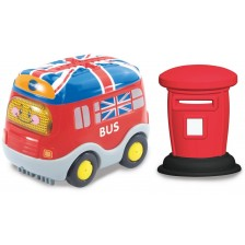 Детска играчка Vtech - Лондонски автобус, със светлина и звук -1