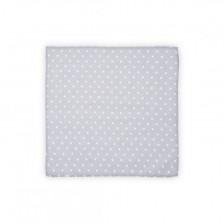 Памучна пелена Lorelli - Сиви точки, 80 х 80 cm -1