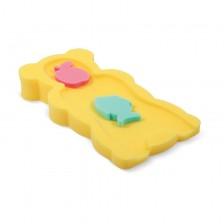Мека подложка за къпане Lorelli - Жълта -1