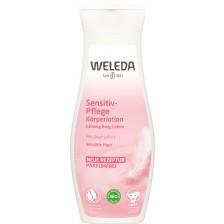 Лосион за тяло за чувствителна кожа Weleda, 200 ml -1
