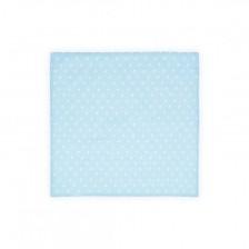Памучна пелена Lorelli - Сини точки, 80 х 80 cm -1