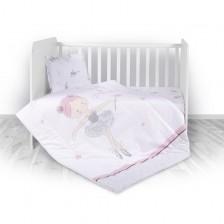 Спален комплект 4 части Lorelli - Ballet, pink -1