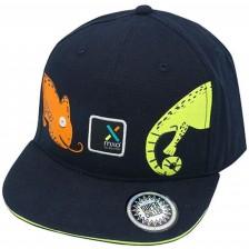 Лятна шапка с широка козирка Maximo - размер 49/51, Хамелеон -1