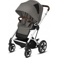 Лятна количка Cybex - Talos S, Lux SLV Soho Grey -1