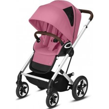 Лятна количка Cybex - Talos S, Lux SLV Magnolia Pink -1