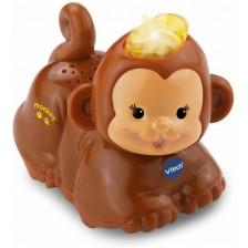Детска играчка Vtech - Животни за игра, маймунка -1