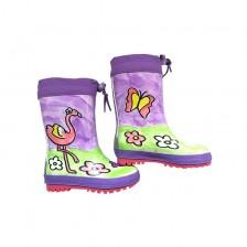 Детски гумени ботуши Maximo - Пролет/есен, фламинго, размер 24 -1