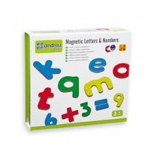 Магнитни букви и цифри Andreu toys -1