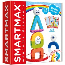 Магнитен конструктор Smart Games Smartmax - My first acrobats -1
