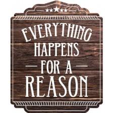 Магнит за хладилник Gespaensterwald - Everything happens for reason -1