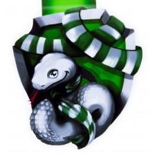 Магнитен книгоразделител - Амбициозна змия -1