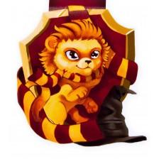 Магнитен книгоразделител - Смел лъв -1
