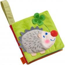Мека бебешка книжка Haba - Животни в гората -1
