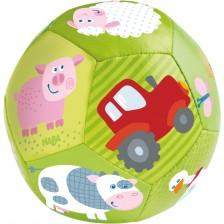 Mека бебешка топка Haba - Ферма -1