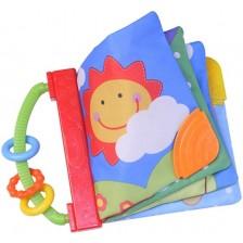 Мека бебешка книжка Beeboo Baby - Слънце -1