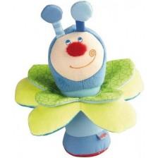 Мека бебешка играчка Haba, Бръмбар Кай -1