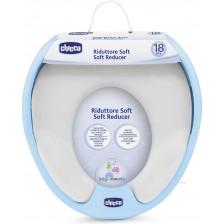 Мек кръг за тоалетна чиния Chicco, син -1