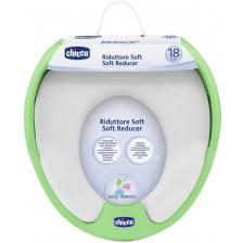 Мек кръг за тоалетна чиния Chicco, зелен -1
