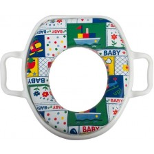 Мек адаптор за тоалетна чиния Sevi Baby - Корабчета -1