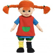 Мека кукла Micki Pippi - Пипи Дългото Чорапче, 60 cm -1