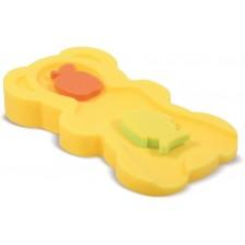 Мека подложка за къпане Lorelli - Midi, жълта -1