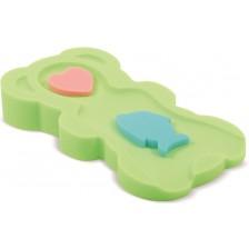 Мека подложка за къпане Lorelli - Midi, зелена -1