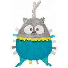 Мека играчка за гушкане Canpol - Pastel Friends, синя -1