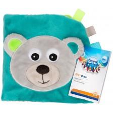 Мека книжка Canpol - Bears, синя -1